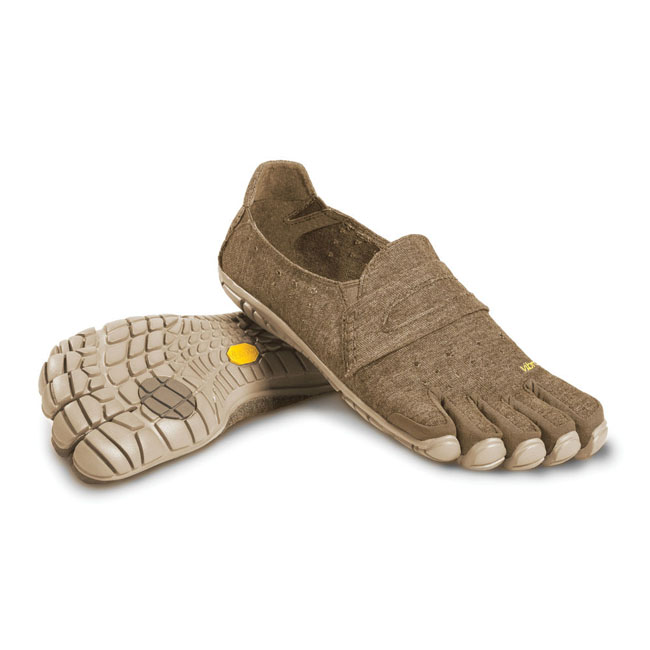 Cheap Vibram FiveFingers CVT-HEMP Khaki Men Online