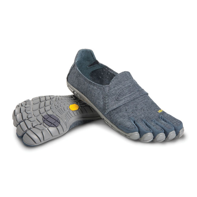 Men Vibram FiveFingers CVT-HEMP Navy / Grey Outlet Online