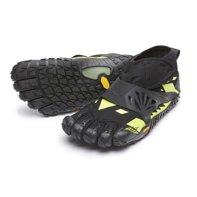 Men Vibram FiveFingers SPYRIDON MR ELITE Black / Yellow Outlet Online