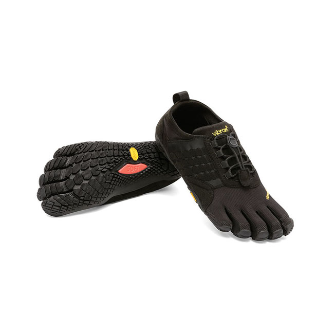 Men Vibram FiveFingers TREK ASCENT Black Outlet Online