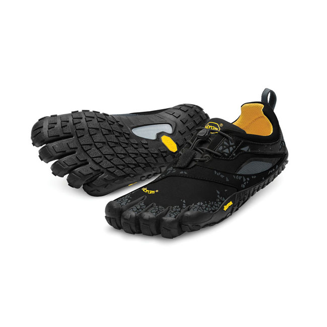 Men Vibram FiveFingers SPYRIDON MR Black / Grey Outlet Online
