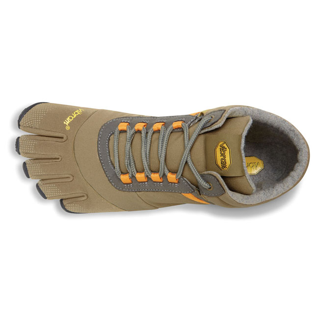 Men Vibram FiveFingers TREK ASCENT INSULATED Tan / Grey / Black Outlet Online