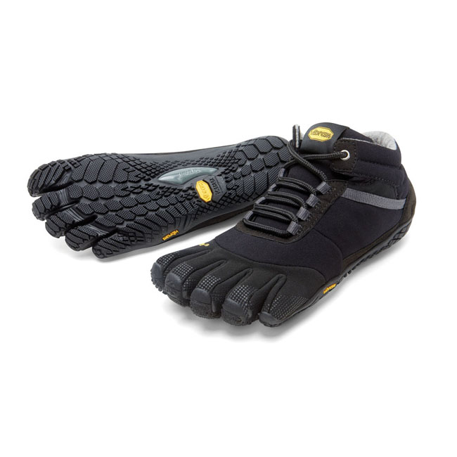 Men Vibram FiveFingers TREK ASCENT INSULATED Black Outlet Online