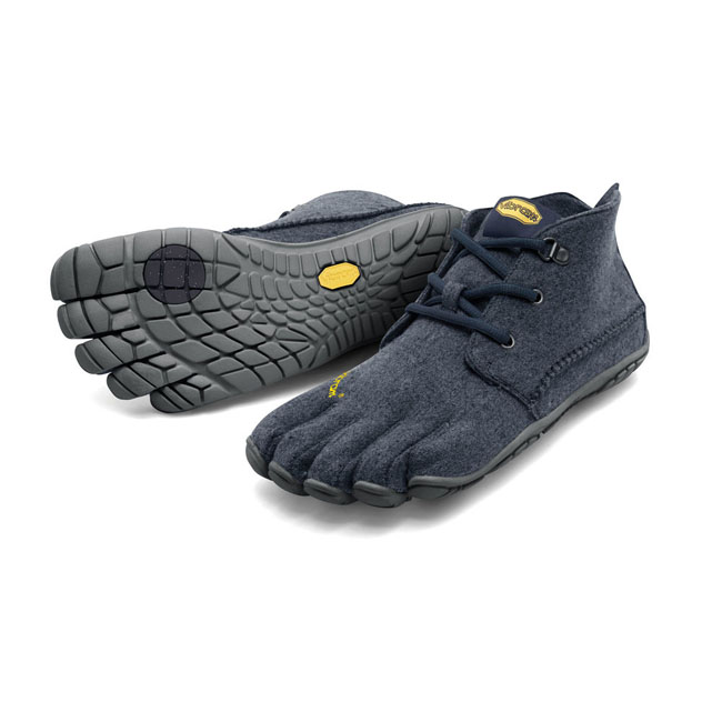Men Vibram FiveFingers CVT-WOOL Navy / Grey Outlet Online