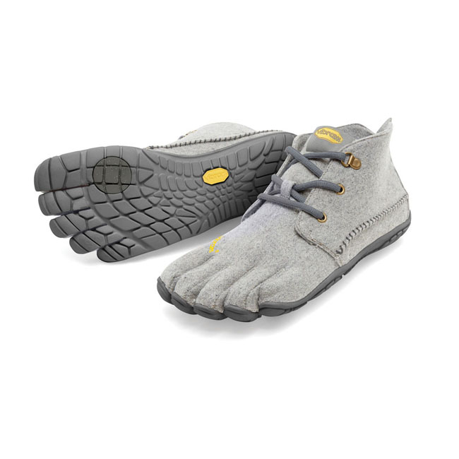 Men Vibram FiveFingers CVT-WOOL Grey Outlet Online