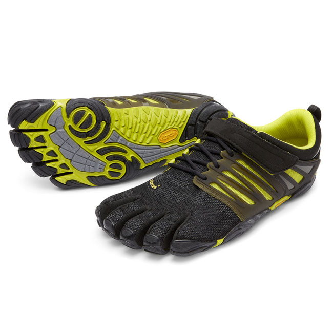 Vibram FiveFingers Men V-TRAIN Black / Green On Sale