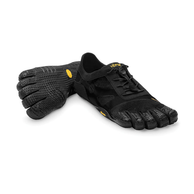 Men Vibram FiveFingers KSO EVO Grey / Black Outlet Online