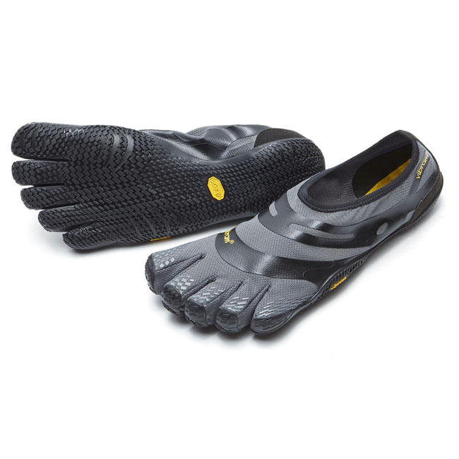 Men Vibram FiveFingers EL-X Grey / Black Outlet Online