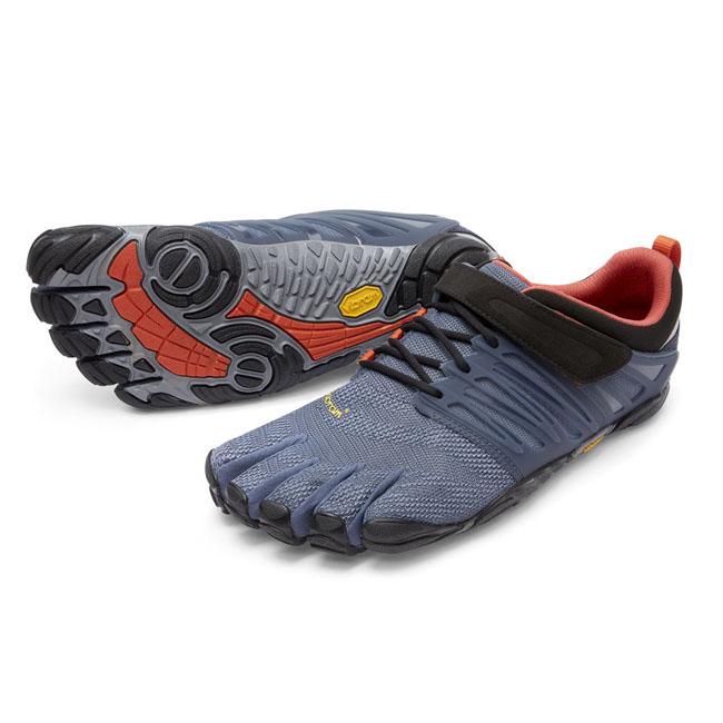 Men Vibram FiveFingers V-TRAIN Indigo / Black / Blue Outlet Online