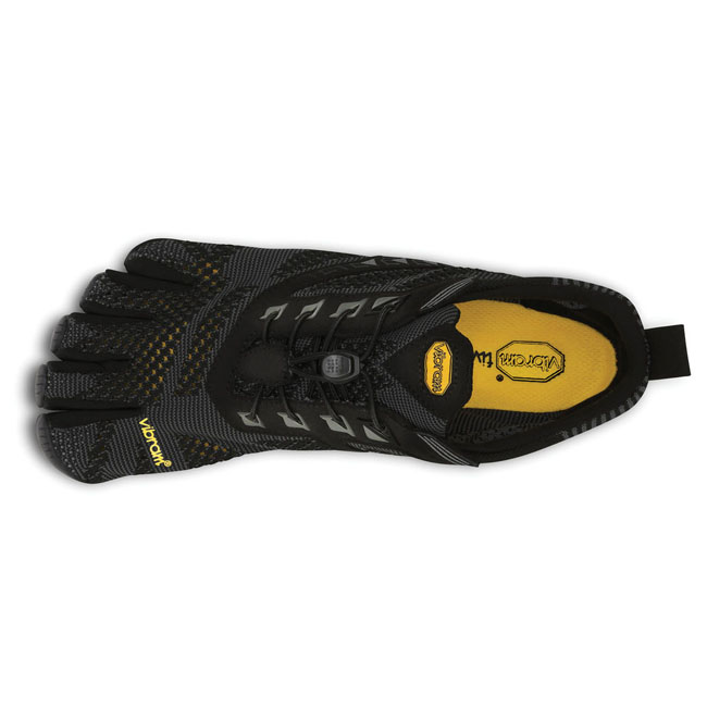 Men Vibram FiveFingers KMD EVO Black / Grey Outlet Online