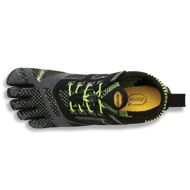Men Vibram FiveFingers KMD EVO Black / Yellow Outlet Online