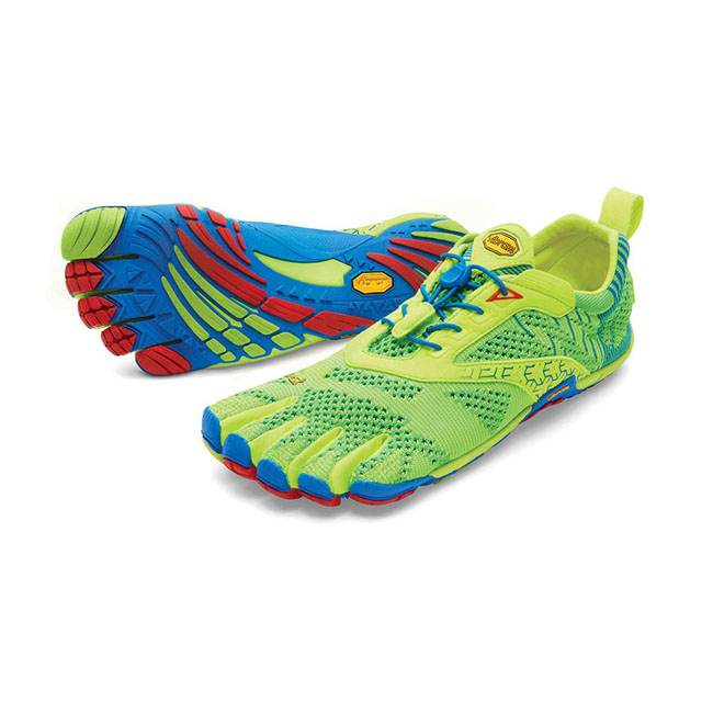 Vibram FiveFingers Men KMD EVO Yellow / Blue / Red On Sale