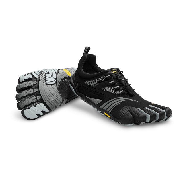 Vibram FiveFingers Men KMD SPORT LS Black / Silver / Grey On Sale