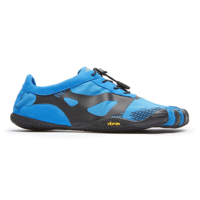 Cheap Vibram FiveFingers KSO EVO Blue / Black Men Online