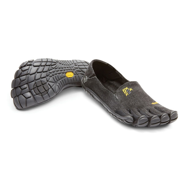 Cheap Vibram FiveFingers CVT-HEMP Black Women Online