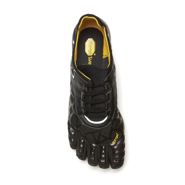 Women Vibram FiveFingers VYBRID SNEAK Black / Grey Outlet Online