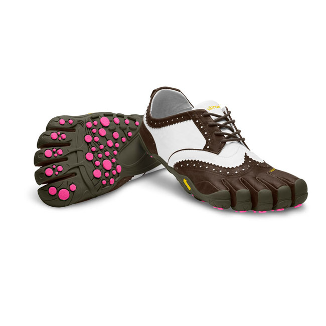 Vibram FiveFingers Women V-CLASSIC LR Brown / White / Purple On Sale