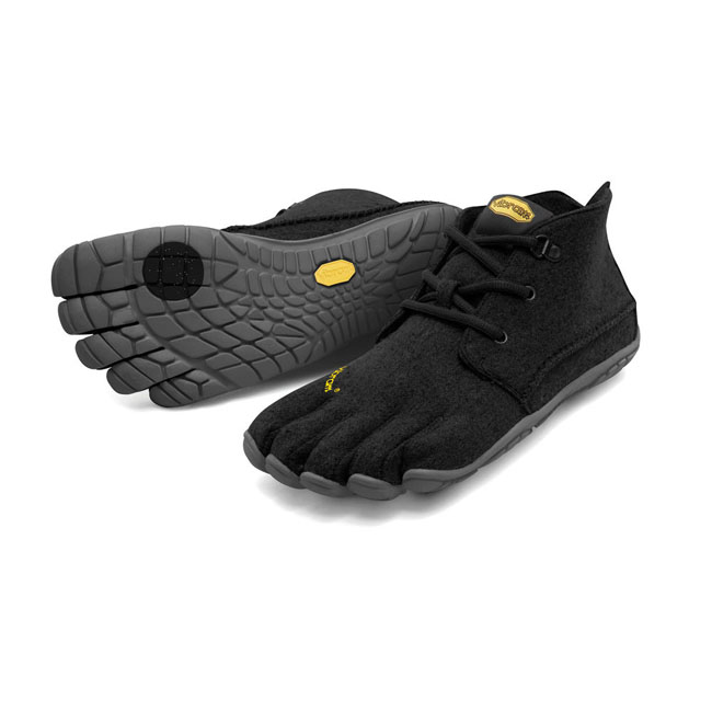 Cheap Vibram FiveFingers CVT-WOOL Black / Grey Women Online