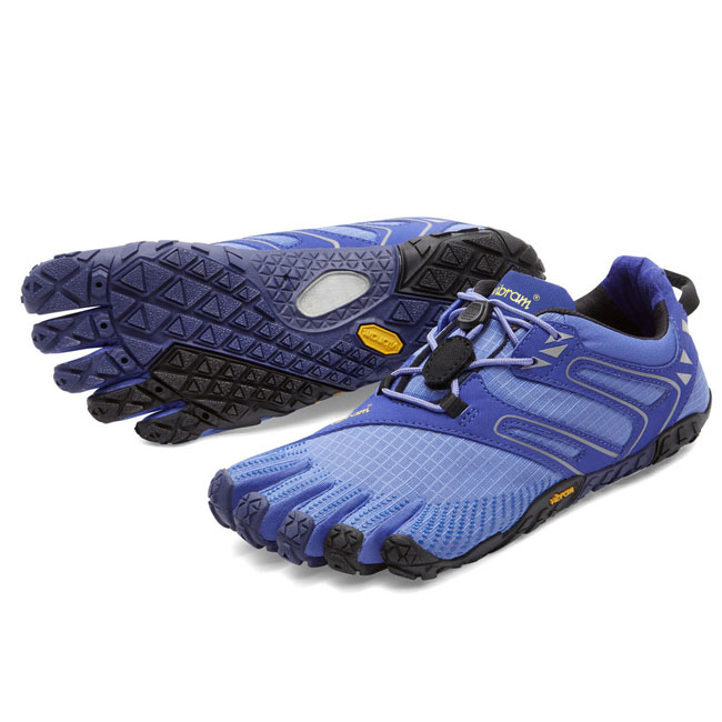 Women Vibram FiveFingers V-TRAIL Purple / Black Outlet Online