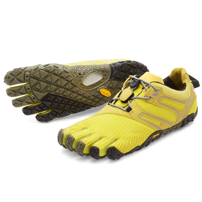 Cheap Vibram FiveFingers V-TRAIL Yellow / Black Women Online