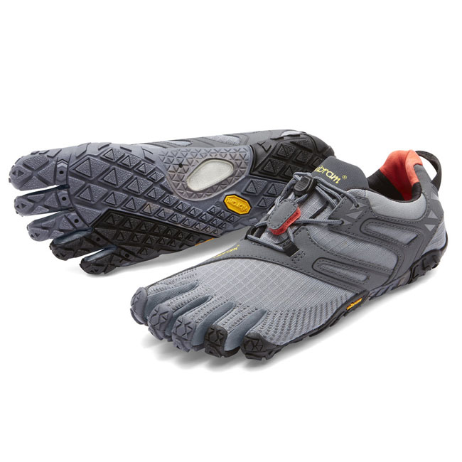 Cheap Vibram FiveFingers V-TRAIL Grey / Black / Orange Women Online