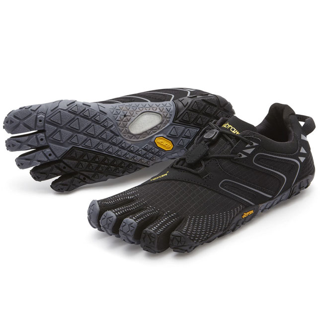 Women Vibram FiveFingers V-TRAIL Black / Grey Outlet Online