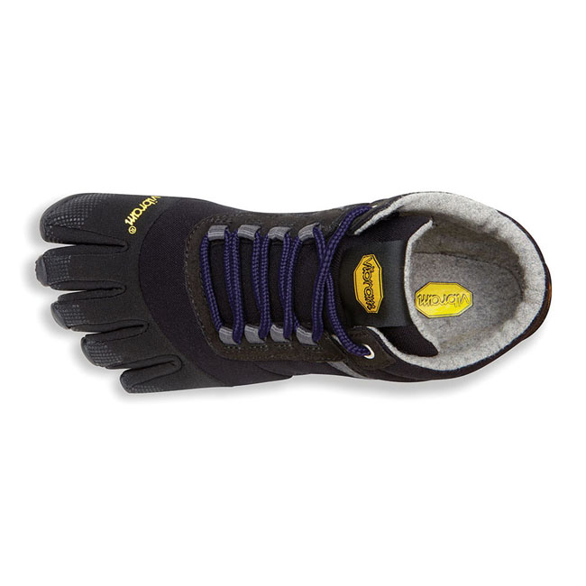 Women Vibram FiveFingers TREK ASCENT INSULATED Black / Purple Outlet Online