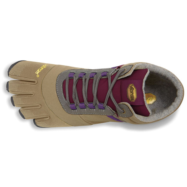 Cheap Vibram FiveFingers TREK ASCENT INSULATED Khaki / Grape Women Online