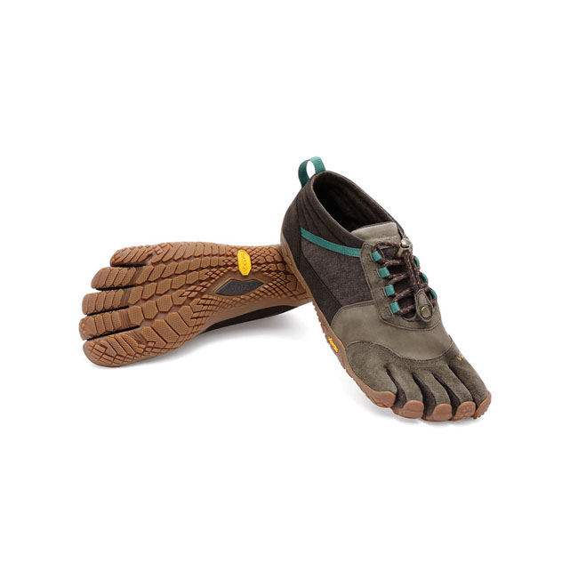 Women Vibram FiveFingers TREK ASCENT LR Caramel / Brown / Green Outlet Online