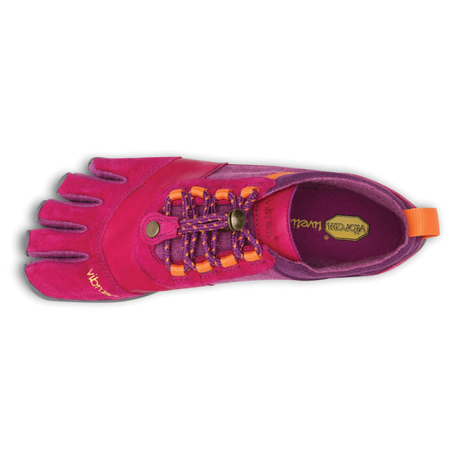 Women Vibram FiveFingers TREK ASCENT LR Pink / Grey / Orange Outlet Online