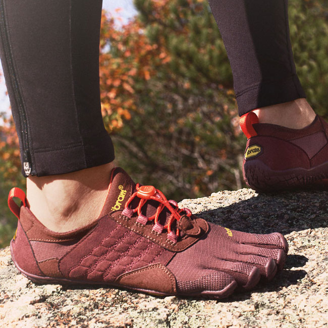 Women Vibram FiveFingers TREK ASCENT Grape / Red Outlet Online