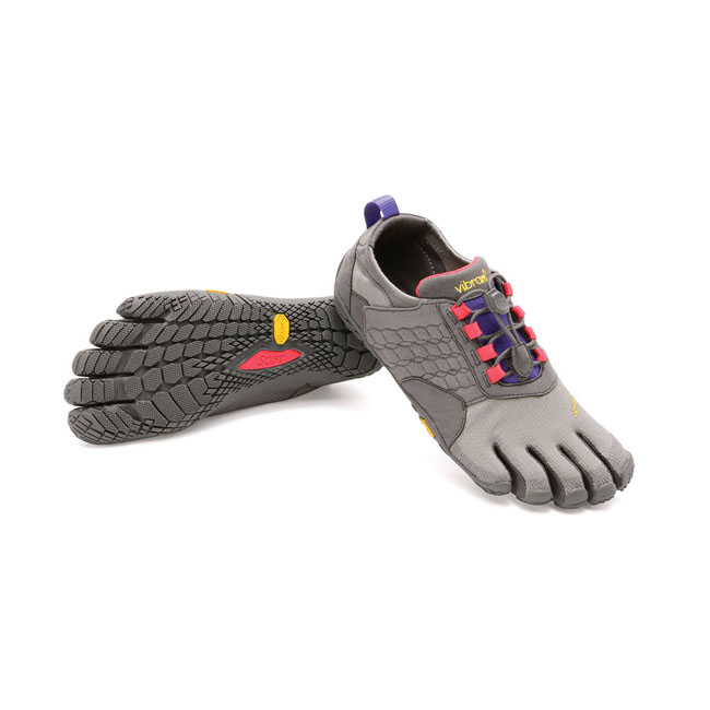 Women Vibram FiveFingers TREK ASCENT Dark Grey / Lilac Outlet Online