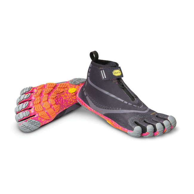 Women Vibram FiveFingers BIKILA EVO WP Black / Grey / Purple Outlet Online