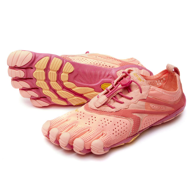 Women Vibram FiveFingers V-RUN Pink / Red Outlet Online