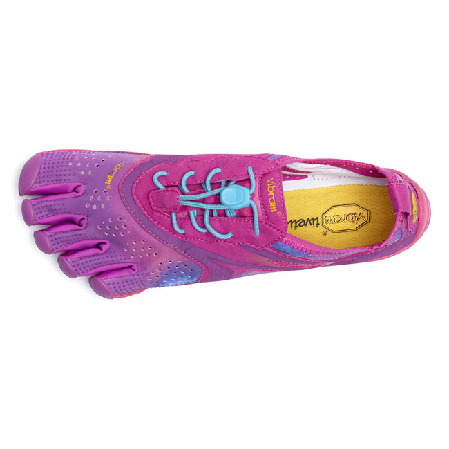 Women Vibram FiveFingers V-RUN Purple / Blue Outlet Online