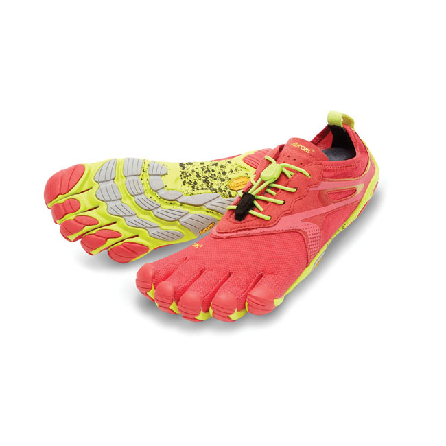 Women Vibram FiveFingers BIKILA EVO Red / Yellow Outlet Online
