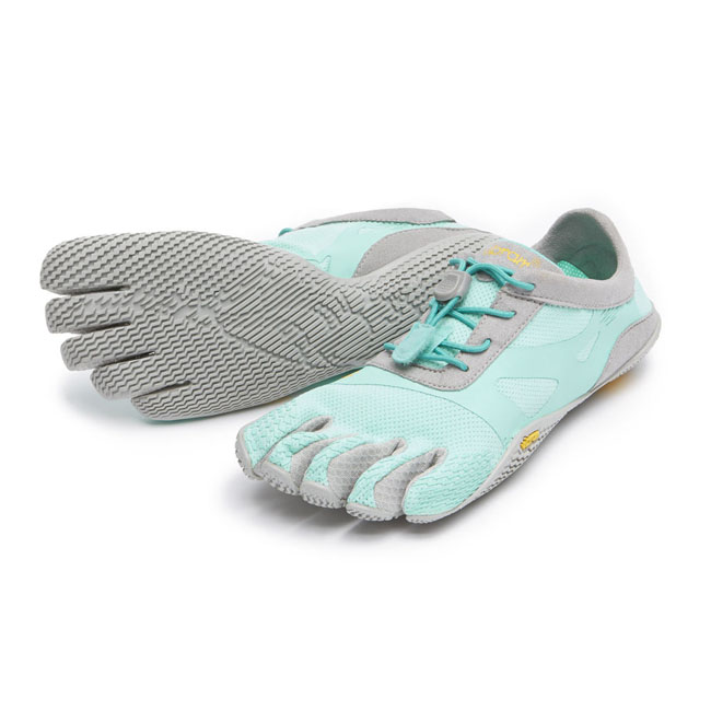 Cheap Vibram FiveFingers KSO EVO Mint / Grey Women Online