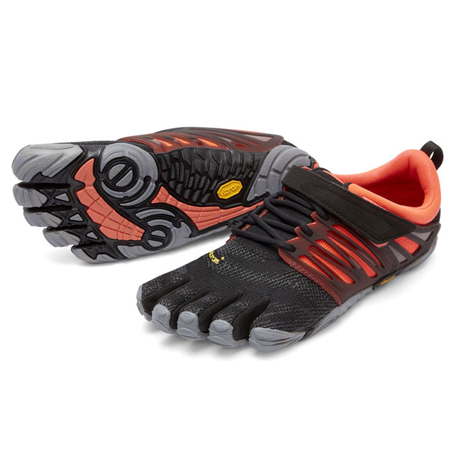 Cheap Vibram FiveFingers V-TRAIN Black / Coral / Grey Women Online