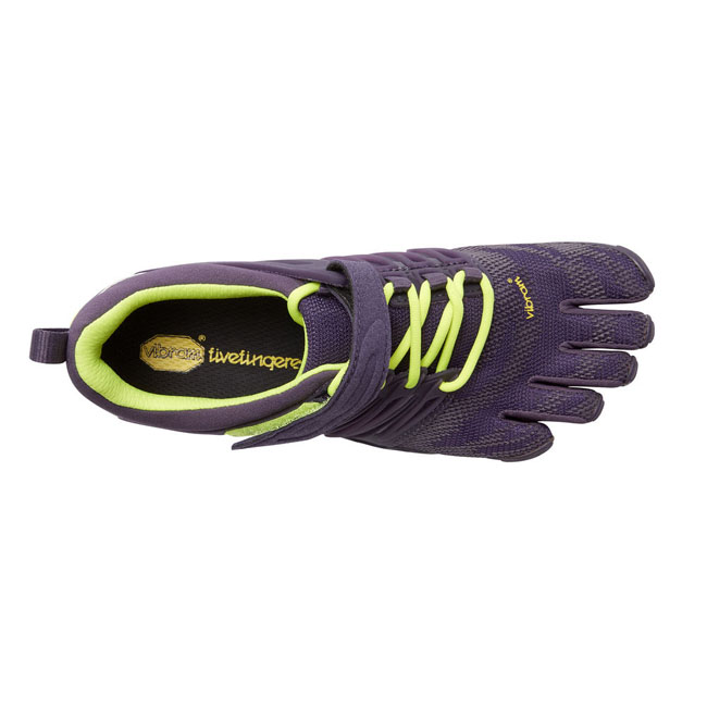 Cheap Vibram FiveFingers V-TRAIN Nightshade / Safety Yellow Women Online