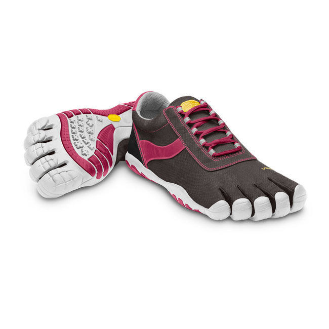 Women Vibram FiveFingers SPEED XC Black / Rose / White Outlet Online