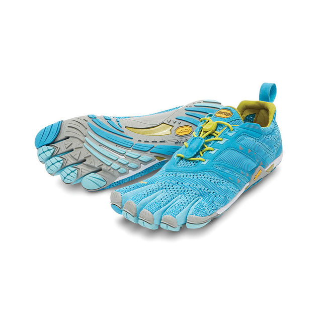 Women Vibram FiveFingers KMD EVO Light Blue / Grey / Yellow Outlet Online