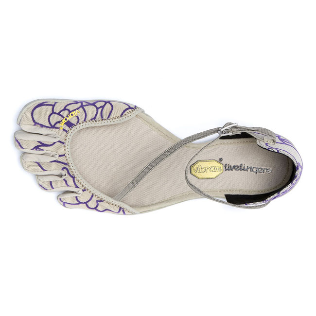 Cheap Vibram FiveFingers VI-S Beige / Royal Purple Women Online