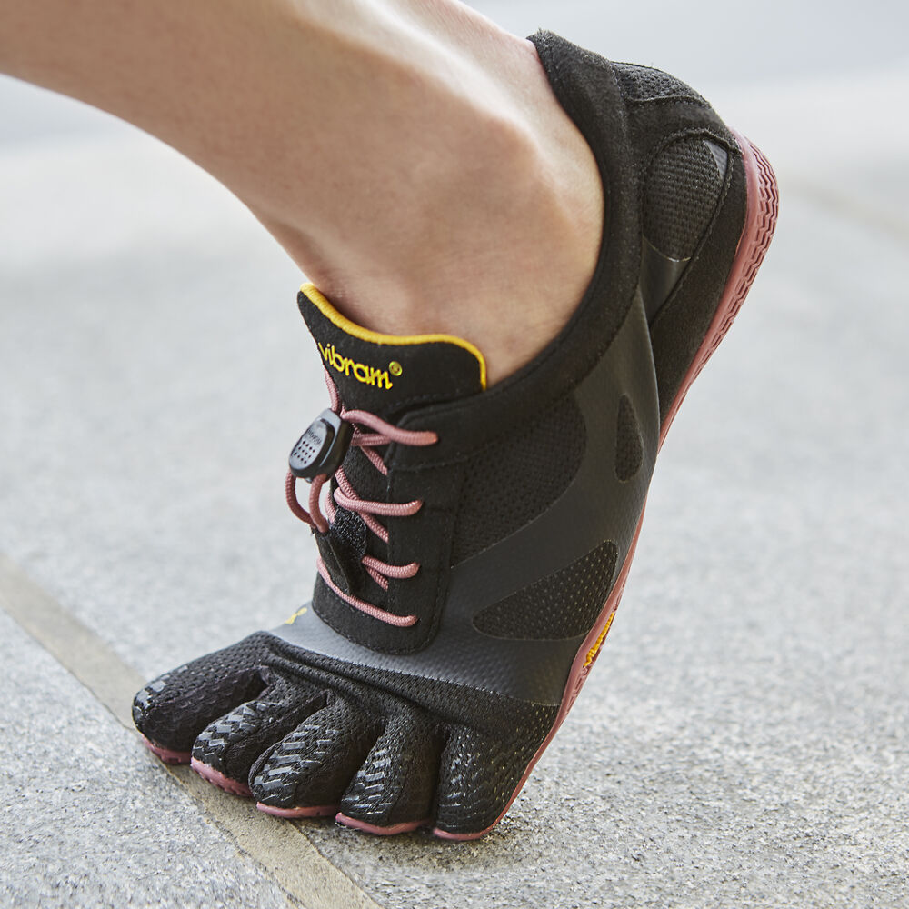 Vibram Fivefingers KSO EVO WOMEN\'S Black / Rose Outlet Online