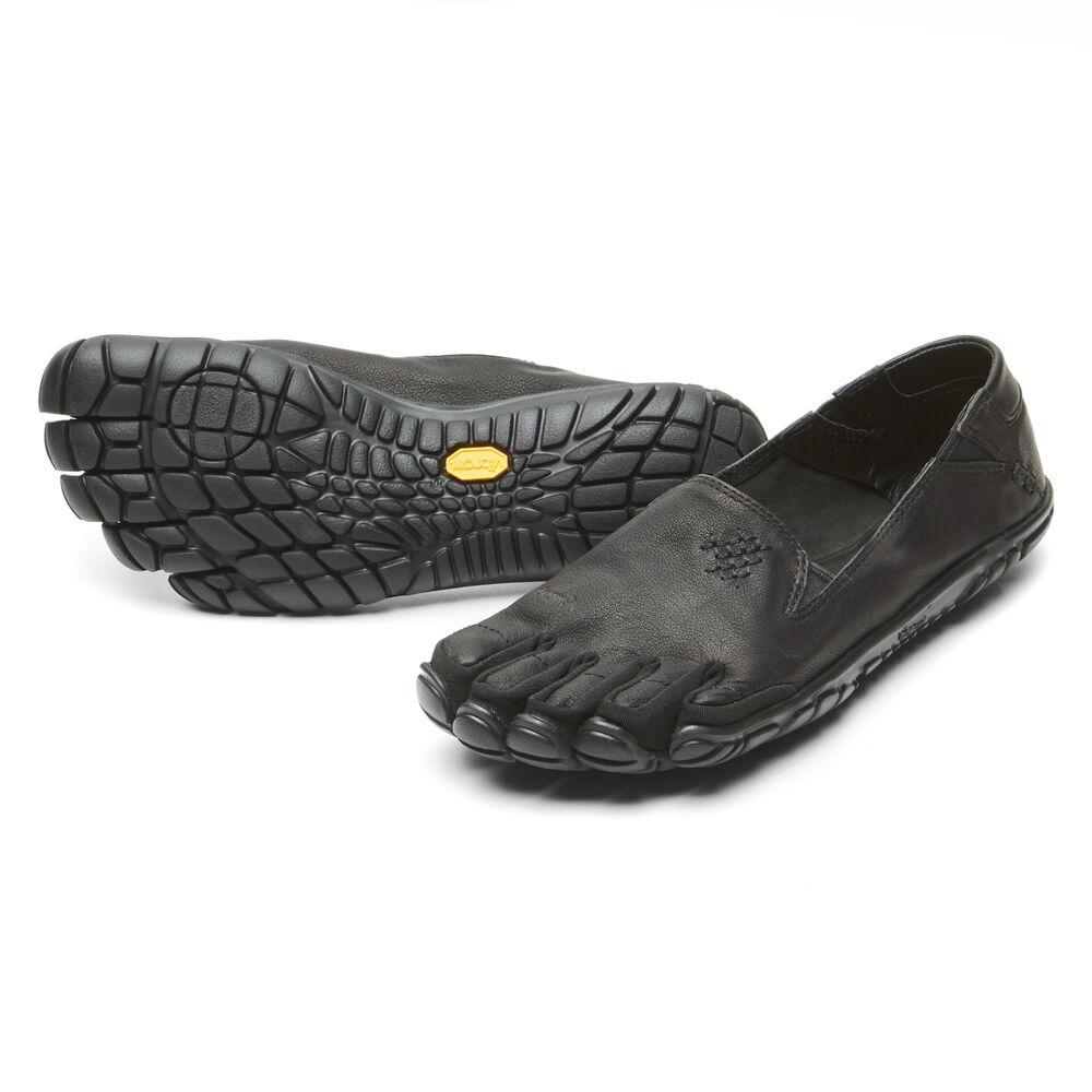 Vibram Fivefingers CVT-LEATHER WOMEN'S Black Outlet Online