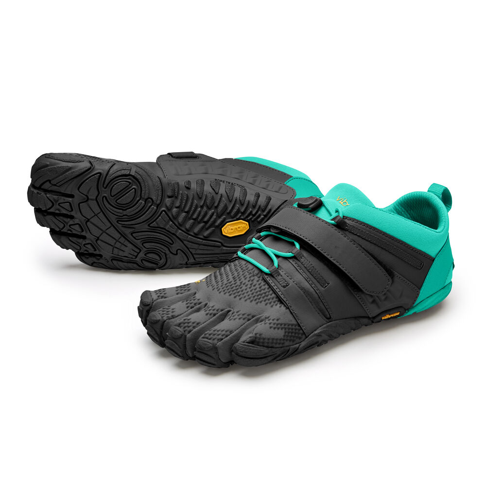 Vibram Fivefingers V-TRAIN 2.0 WOMEN'S Black / Green Outlet Online